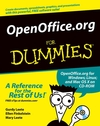 OpenOffice.org For Dummies (0764559087) cover image