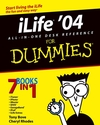 iLife '04 All-in-One Desk Reference For Dummies (0764576887) cover image