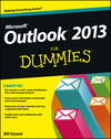 Outlook 2013 For Dummies (1118490487) cover image