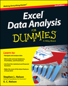 Excel Data Analysis For Dummies, 2nd Edition (1118898087) cover image