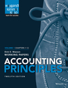 Accounting Principles, Volume 1 Chapters - 12: Working Papers, 12th Edition (1118969987) cover image