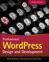 Professional WordPress: Design and Development, 3rd Edition (1118987187) cover image