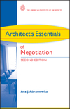 Architect's Essentials of Negotiation, 2nd Edition (0470426888) cover image