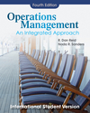 Operations Management: An Integrated Approach, 4E International Student Version