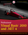 Professional Visual Basic 2010 and .NET 4 (0470877588) cover image