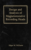 Design and Analysis of Magnetoresistive Recording Heads (0471363588) cover image
