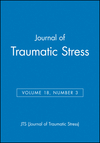 Journal of Traumatic Stress, Volume 18, Number 3 (0471774588) cover image
