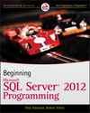 Beginning Microsoft SQL Server 2012 Programming (1118223888) cover image