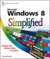 Windows 8 Simplified (1118238788) cover image