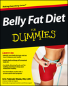 Belly Fat Diet For Dummies (1118432088) cover image
