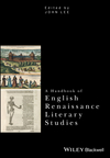A Handbook of English Renaissance Literary Studies (1118458788) cover image
