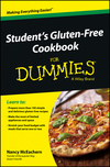 Student's Gluten-Free Cookbook For Dummies (1118502388) cover image