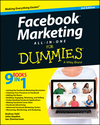 Facebook Marketing All-in-One For Dummies, 3rd Edition (1118816188) cover image