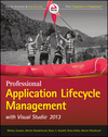 Professional Application Lifecycle Management with Visual Studio 2013 (1118836588) cover image