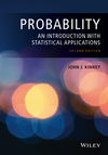 thumbnail image: Probability: An Introduction with Statistical Applications,...