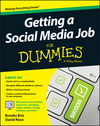 Getting a Social Media Job For Dummies (1119002788) cover image