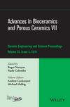 Advances in Bioceramics and Porous Ceramics VII: Ceramic Engineering and Science Proceedings, Volume 35 Issue 5 (1119040388) cover image