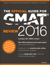 The Official Guide for GMAT Review 2016 with Online Question Bank and Exclusive Video (1119042488) cover image