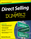 Direct Selling For Dummies (1119076188) cover image
