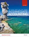 Intermediate Accounting, Volume 1, 11th Canadian Edition Binder Ready Version (1119243688) cover image