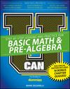 U Can: Basic Math & Pre-Algebra For Dummies, CUSTOM Special Edition (1119271088) cover image