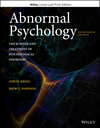 Abnormal Psychology, Loose-Leaf Print Companion, 14th Edition (1119362288) cover image