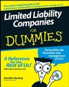 Limited Liability Companies For Dummies® (0470173289) cover image