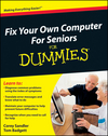 Fix Your Own Computer For Seniors For Dummies (0470575689) cover image