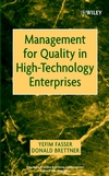 Management for Quality in High-Technology Enterprises (0471209589) cover image
