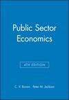 Public Sector Economics, 4th Edition (0631162089) cover image