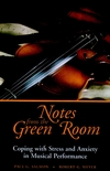 Notes from the Green Room: Coping with Stress and Anxiety in Musical Performance (0787943789) cover image
