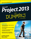 Project 2013 For Dummies (1118585089) cover image