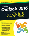 Outlook 2016 For Dummies (1119076889) cover image