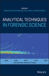 thumbnail image: Analytical Techniques in Forensic Science