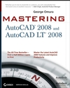 Mastering AutoCAD 2008 and AutoCAD LT 2008 (047013738X) cover image