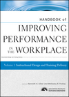 Handbook of Improving Performance in the Workplace, Volume 1, Instructional Design and Training Delivery (047019068X) cover image
