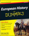 European History For Dummies, 2nd Edition (047097818X) cover image