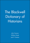 The Blackwell Dictionary of Historians (063114708X) cover image