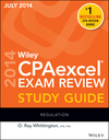 Wiley CPAexcel Exam Review Spring 2014 Study Guide: Regulation (111891788X) cover image