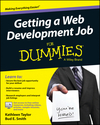 Getting a Web Development Job For Dummies (111896778X) cover image