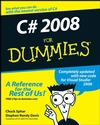 C# 2008 For Dummies (0470191090) cover image