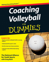 Coaching Volleyball For Dummies (0470464690) cover image
