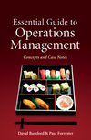 Essential Guide to Operations Management: Concepts and Case Notes (0470749490) cover image