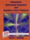 Boyce, DiPrima: Elementary Differential Equations and Boundary Value Problems, 7th Edition with Solutions Manual
