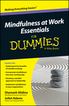 Mindfulness At Work Essentials For Dummies (0730319490) cover image
