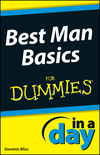 Best Man Basics In A Day For Dummies (1118380290) cover image