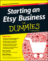 Starting an Etsy Business For Dummies, 2nd Edition (1118590090) cover image