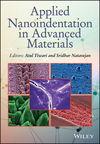 Applied Nanoindentation in Advanced Materials (1119084490) cover image