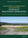 thumbnail image: Environmental Considerations Associated with Hydraulic Fracturing Operations: Adjusting to the Shale Revolution in a Green World