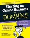 Starting an Online Business For Dummies®, 5th Edition (0470107391) cover image
